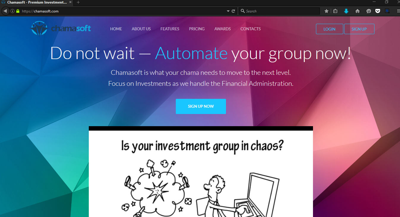 Creating A Chamasoft Group Account